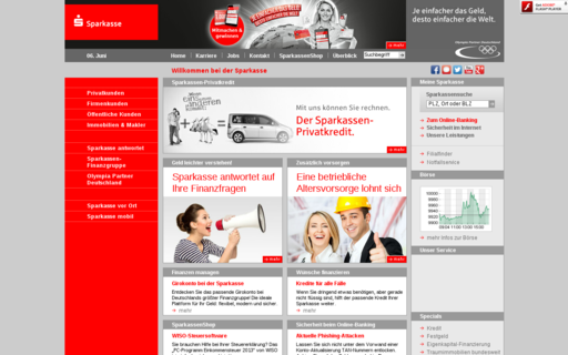Access sparkasse.de using Hola Unblocker web proxy