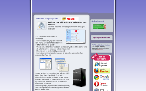 Access speakychat.ch using Hola Unblocker web proxy