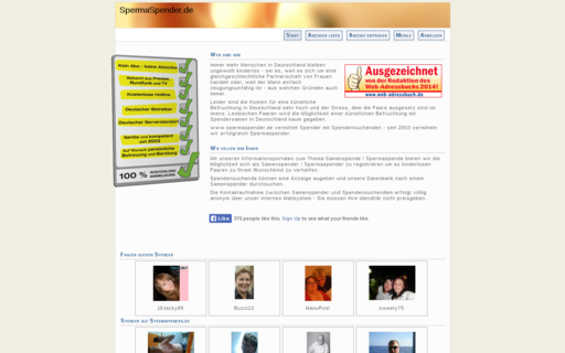 Access spermaspender.de using Hola Unblocker web proxy