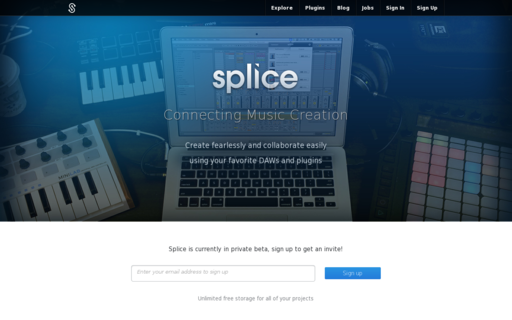 Access splice.com using Hola Unblocker web proxy