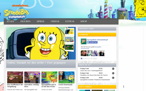 Access spongebob.de using Hola Unblocker web proxy