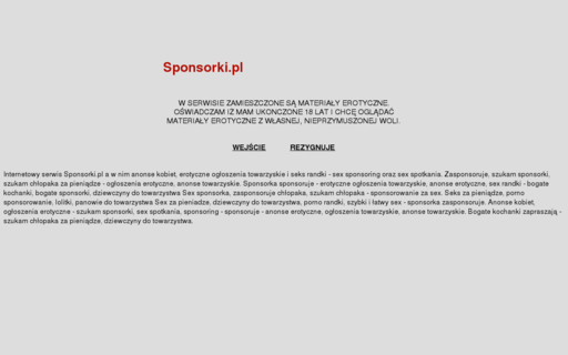 Access sponsorki.pl using Hola Unblocker web proxy