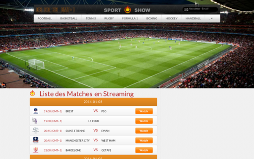 Access sport-show.fr using Hola Unblocker web proxy