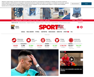 Access sport.es using Hola Unblocker web proxy
