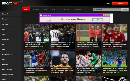 Access sport.net using Hola Unblocker web proxy