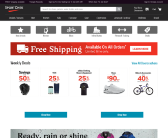 Access sportchek.ca using Hola Unblocker web proxy