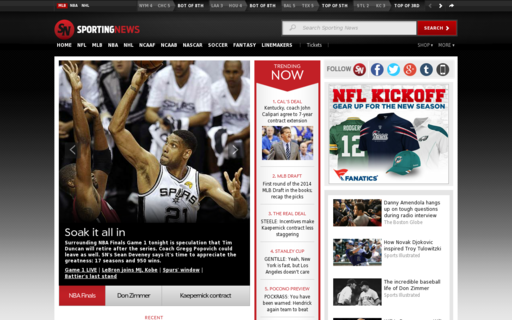 Access sportingnews.com using Hola Unblocker web proxy