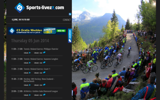 Access sports-livezz.com using Hola Unblocker web proxy
