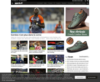 Access sports.fr using Hola Unblocker web proxy