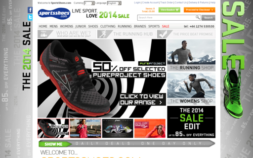 Access sportsshoes.com using Hola Unblocker web proxy