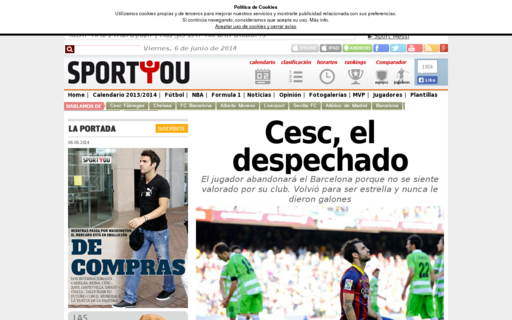 Access sportyou.es using Hola Unblocker web proxy