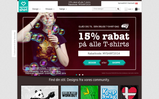 Access spreadshirt.dk using Hola Unblocker web proxy