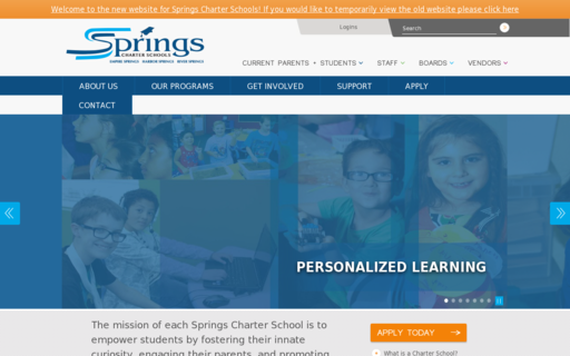 Access springscharterschools.org using Hola Unblocker web proxy