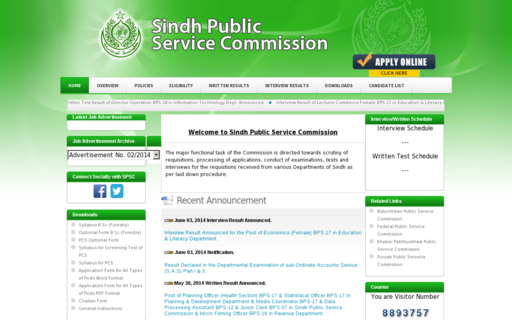 Access spsc.gov.pk using Hola Unblocker web proxy
