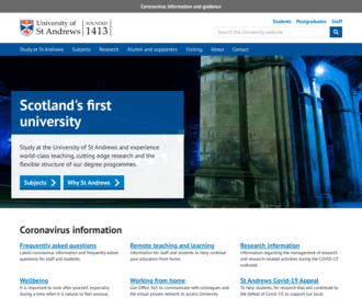 Access st-andrews.ac.uk using Hola Unblocker web proxy