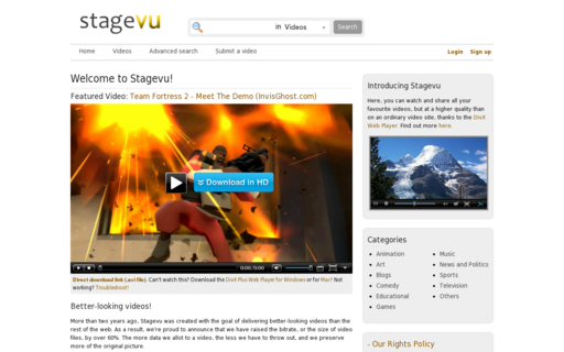 Access stagevu.com using Hola Unblocker web proxy