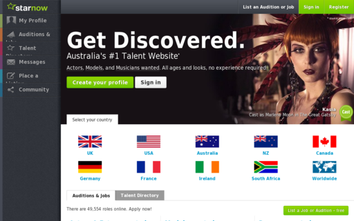 Access starnow.com.au using Hola Unblocker web proxy