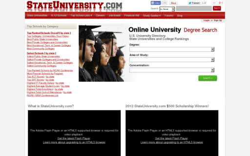 Access stateuniversity.com using Hola Unblocker web proxy