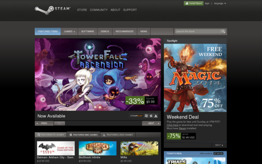 Access steamgames.com using Hola Unblocker web proxy