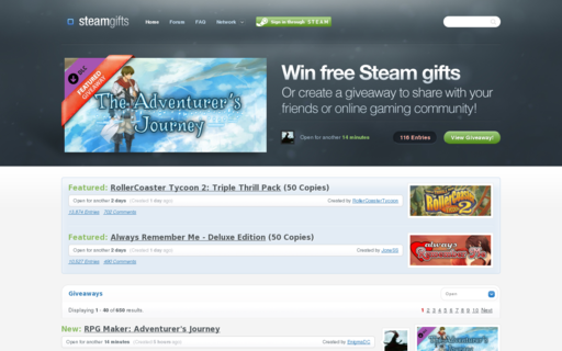 Access steamgifts.com using Hola Unblocker web proxy