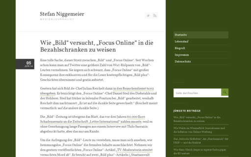 Access stefan-niggemeier.de using Hola Unblocker web proxy