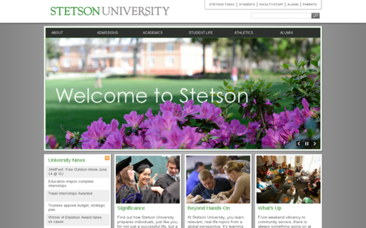 Access stetson.edu using Hola Unblocker web proxy