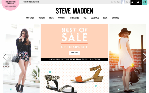 Access stevemadden.com using Hola Unblocker web proxy