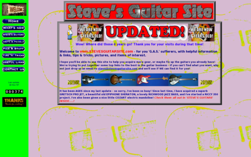 Access stevesguitarsite.com using Hola Unblocker web proxy