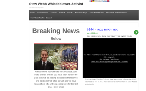 Access stewwebb.com using Hola Unblocker web proxy