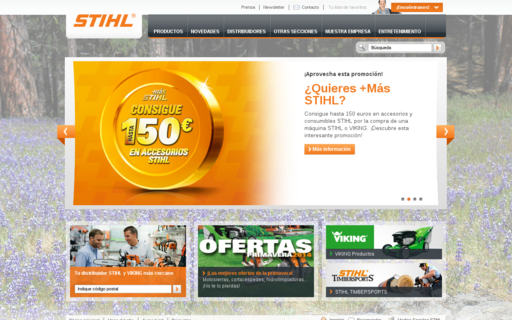 Access stihl.es using Hola Unblocker web proxy