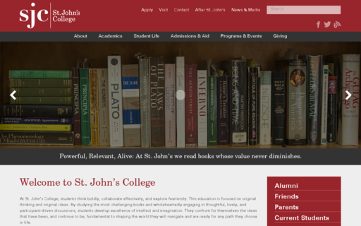 Access stjohnscollege.edu using Hola Unblocker web proxy