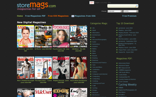 Access storemags.com using Hola Unblocker web proxy