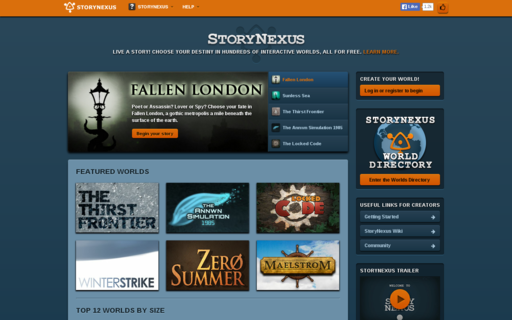 Access storynexus.com using Hola Unblocker web proxy