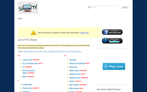 Access stream-tv.me using Hola Unblocker web proxy