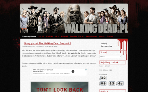 Access strefawalkingdead.pl using Hola Unblocker web proxy