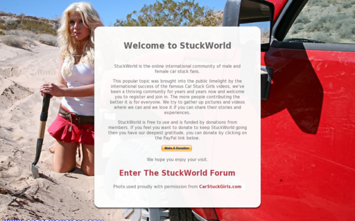 Access stuckworld.com using Hola Unblocker web proxy