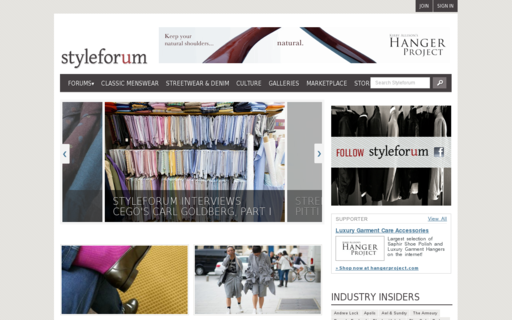 Access styleforum.net using Hola Unblocker web proxy