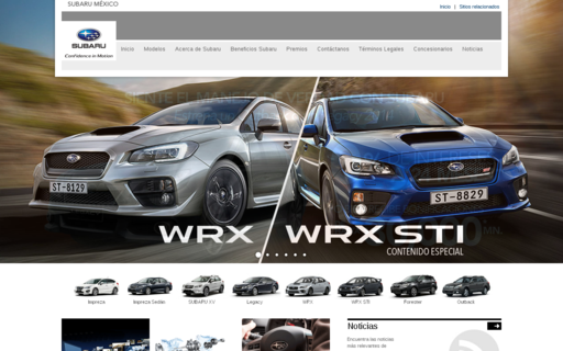 Access subaru.com.mx using Hola Unblocker web proxy