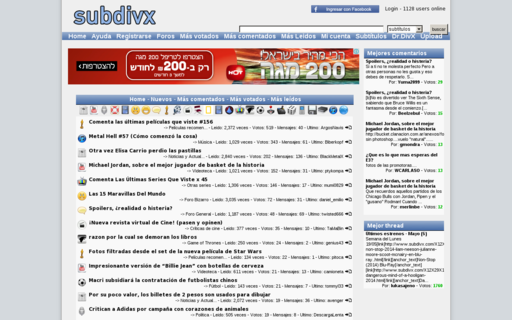 Access subdivx.com using Hola Unblocker web proxy