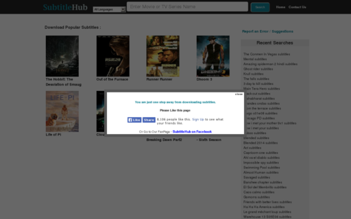 Access subtitlehub.com using Hola Unblocker web proxy