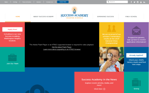 Access successacademies.org using Hola Unblocker web proxy