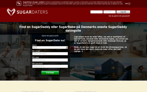 Access sugardaters.dk using Hola Unblocker web proxy
