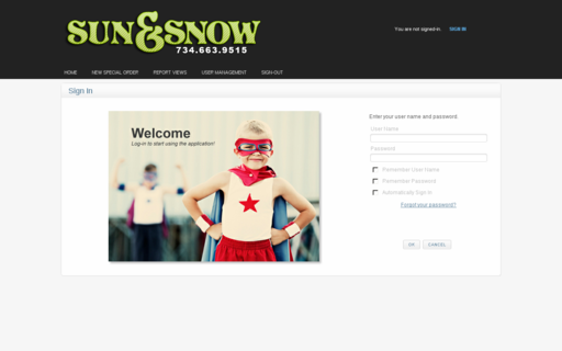 Access sunandsnowsystems.com using Hola Unblocker web proxy