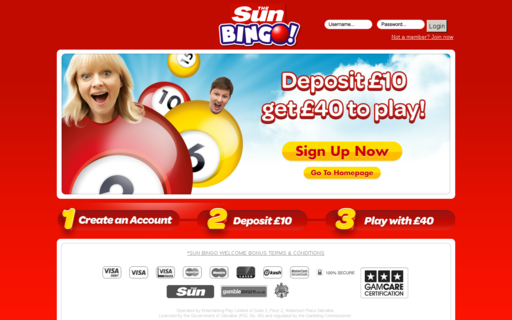 Access sunbingo.co.uk using Hola Unblocker web proxy