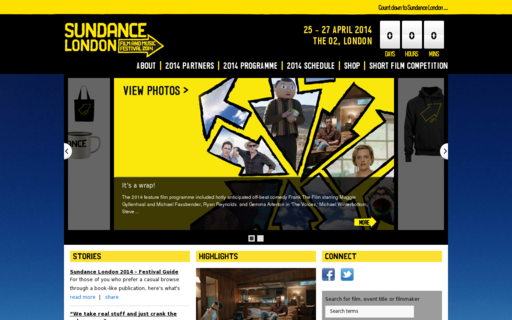Access sundance-london.com using Hola Unblocker web proxy