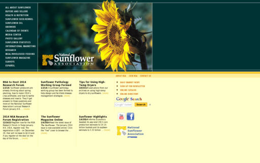 Access sunflowernsa.com using Hola Unblocker web proxy