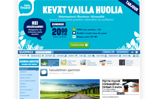 Access suomi24.fi using Hola Unblocker web proxy