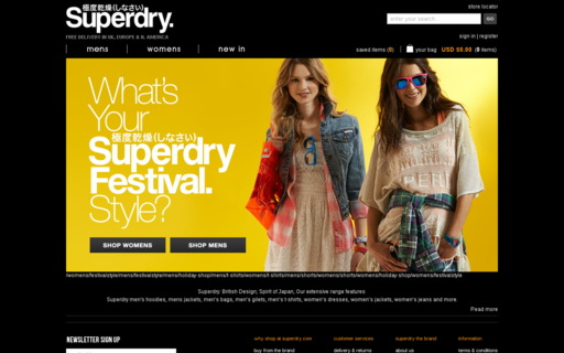 Access superdry.com using Hola Unblocker web proxy
