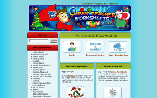 Access superteacherworksheets.com using Hola Unblocker web proxy