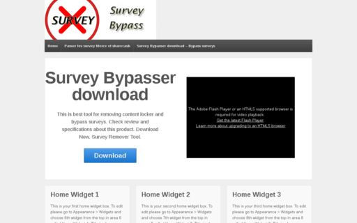 Access surveybypasser.biz using Hola Unblocker web proxy
